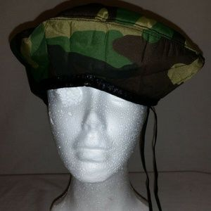 Other - NWOT's Military Style BDU Woodland Camo Beret 965